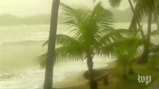 Hurricane Maria hits the Dominican Republic - WASHINGTONPOST