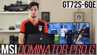 MSI Dominator Pro G (GT72S-6QE): обзор ноутбука