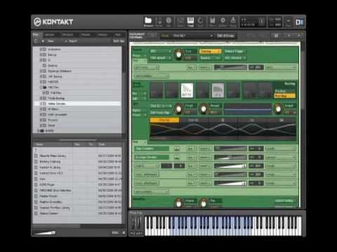 Native Instruments - Kontakt 4 - Tutorial - Overview (Part 1 of 3)