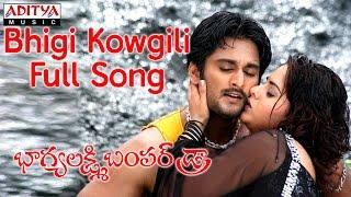 Bhigi Kowgili Full Song   Bhaghya Lakshmi Bumper Draw Movie    Rishi, Farjana - ADITYAMUSIC