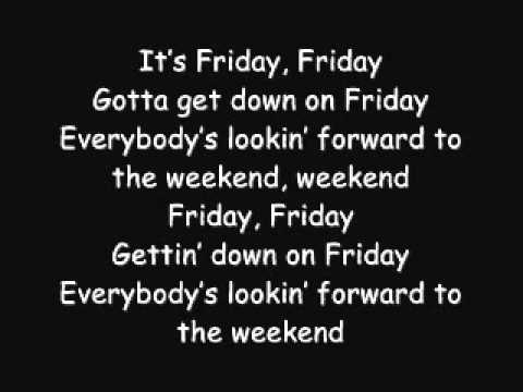 Rebecca Black - Friday (Lyrics)