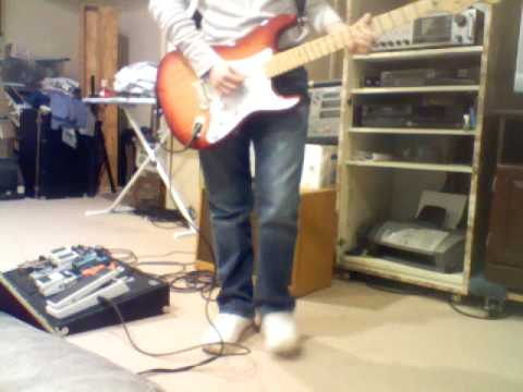 Eric Clapton Strat demo Tone Fender Hot Rod Deluxe Tweed demo I shot the sheriff solo