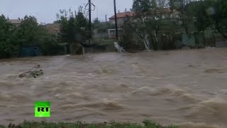 Deadly flash floods ravage southwestern France - RUSSIATODAY