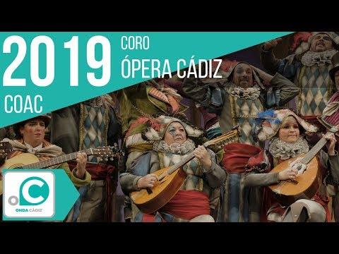 Sesión de Preliminares, la agrupación Ópera Cádiz actúa hoy en la modalidad de Coros.