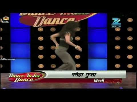 `Sneha Gupta Dance India Dance season 3, DID performing I am a monster, Zenith Dance Company,