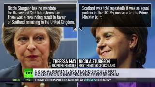 #IndyRef 2.0? Second Scottish referendum would derail May's Brexit strategy - RUSSIATODAY
