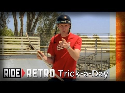 How-To Pressure Flip with Tony Hawk & Mike Vallely - Retro Trick-a-Day