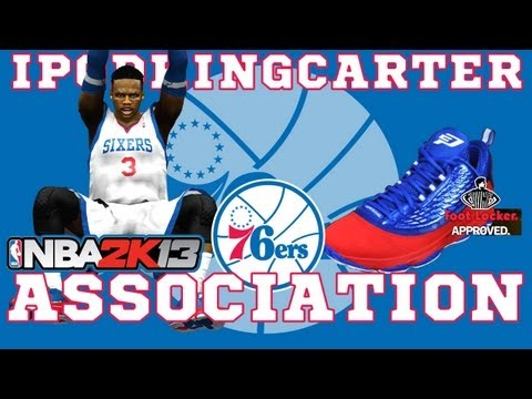 NBA 2K13 Association: Philadelphia 76ers - Ep. 4 | Reg. Season Home Opener Sponsored By Jordan Brand