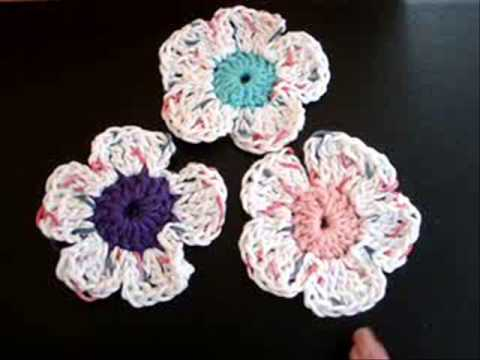 CARLITTO  CROCHET SPRING FLOWER, Link to video
