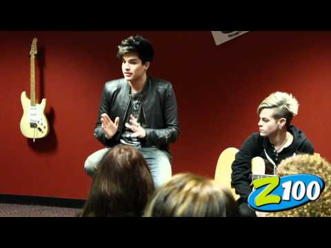 Adam Lambert Acoustic Performance - Z100 Portland