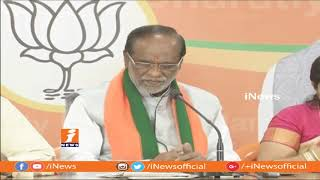 BJP Introduce EBC Reservation Without Hurting Other Reservations | BJP Laxman | iNews - INEWS