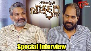 Rajamouli Interviews Krish || GPSK Special Interview - TELUGUONE
