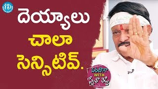 Devils Are Very Sensitive - Kodi Ramakrishna || Saradaga With Swetha Reddy - IDREAMMOVIES