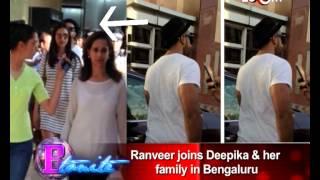 Ranveer Singh celebrates Deepika Padukone's birthday with her family