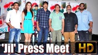 'Jil' Press Meet - IGTELUGU