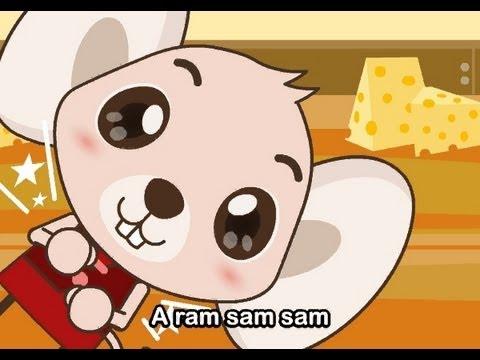 Muffin Songs – A Ram Sam Sam  İngilizce Tekerlemeler ve İngilizce Çocuk Şarkılar