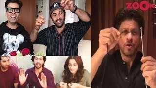 Karan, Ranbir, Alia, Aditya, Varun, SRK & more take 'Sui Dhaaga' Challenge & more | Bollywood News - ZOOMDEKHO