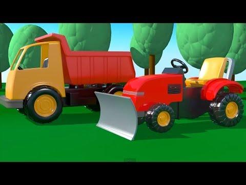Spielplatz - 2 Bagger - Zeichentrick-Serien für Kinder
