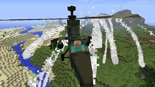 ЛЕТНИЕ ПРИКЛЮЧЕНИЯ С ЭМИРАЛЬДОМ - Отвоевали Вертолёт [Minecraft]