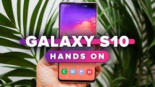 Samsung Galaxy S10 hands-on - CNETTV