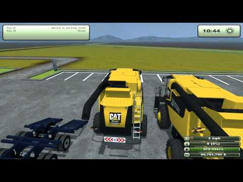 Farming Simulator 2013 Mods - Kenworth Heavy Haul T800, Kenworth Grain Truck, and more!