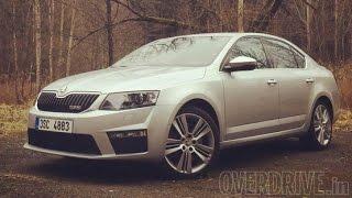2015 Skoda Octavia vRS review