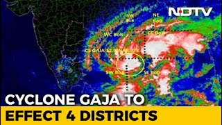 Cyclone Gaja May Hit Tamil Nadu, Puducherry, Rescue Personnel On Alert - NDTV