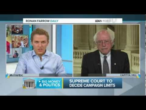 U.S. Senator Bernie Sanders on Ronan Farrow Daily on MSNBC