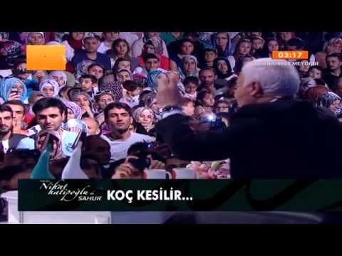 Nihat ve Said Hatipoglu ile süper Sahur sohbeti 04 08 2013 Kadir gecesi