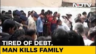 Six Of A Family Found Dead. Suicide Notes Mention Rs. 50 Lakh Debt - NDTV