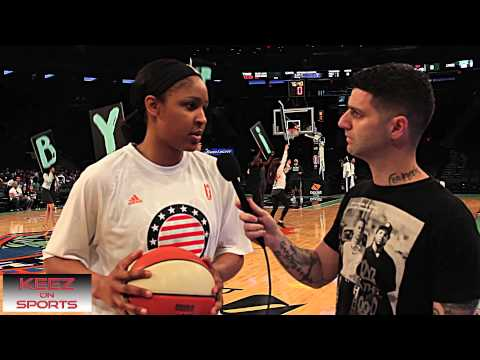 Maya Moore talks kicks with Keez On Sports