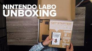 Unboxing Nintendo Labo - CNETTV