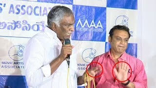 Media Fires On Tammareddy Bharadwaja @ MAA Press Meet - IGTELUGU