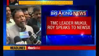 TMC leader Mukul Roy speaks to NewsX - NEWSXLIVE