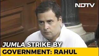 Watch Rahul Gandhi's Speech During No-Trust Debate In Parliament - NDTV