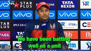 IPL 2018   We have been batting well as a unit: Agarwal - IANSINDIA