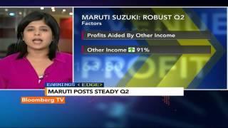 Earnings Edge: Volume Boost For Maruti Q2 - BLOOMBERGUTV