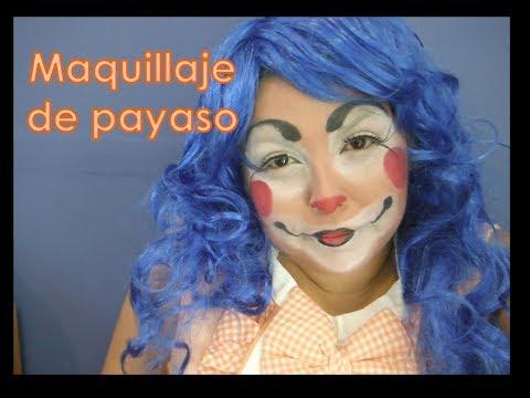 Maquillaje de payaso / DIY
