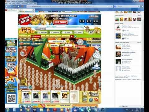 Social Empires Supreme Bahamut Dragon Hack 2013 (Using Cheat Engine)