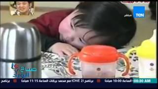 طفل ياباني يبكي لإنتهاء الطعام من طبقه الخاص