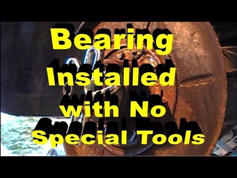 Werkzeug bremsen wechseln