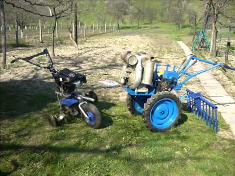 HOME MADE TRACTOR FROM ROMANIA 2