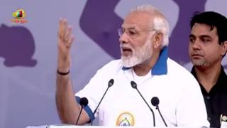 PM Modi Speech  at Mass Yoga Demonstration on the occasion of International Yoga Day in Lucknow - MANGONEWS
