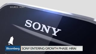 Sony Entering Growth Phase, Will Invest Aggressively: CEO - BLOOMBERG