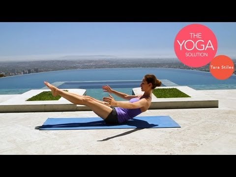 5 Minute Yoga Core Workout | The Yoga Solution With Tara Stiles