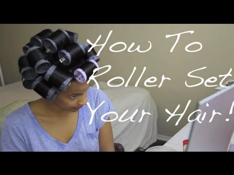 Dominican Wash and Set |Straight Hair Tutorial