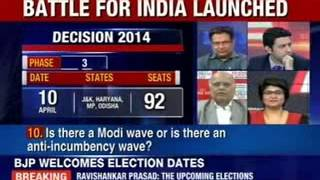 Polls to kick-starts from 7th April onwards in 9 phases - NEWSXLIVE