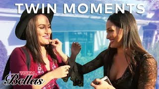 Most Relatable Brie & Nikki Bella Twin Moments | Total Bellas | E! - EENTERTAINMENT