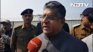 पुलवामा अटैकः केंद्रीय मंत्री रविशंकर बोले- आतंकवाद के खिलाफ खड़ा है पूरा देश - NDTVINDIA