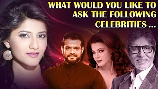 This is what Jia Mustafa wants to ask Karan Patel and other celebrities I Exclusive I TellyChakkar - TELLYCHAKKAR